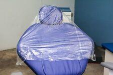 Dental Chair Unit Disposable Half Covers Clear - 200/Box