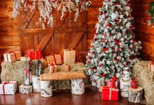 7x5ft New Year Christmas Retro Decor Backdrop Show Background Photo Studio Props