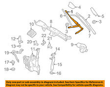 Mercedes MERCEDES-BENZ OEM 06-11 ML350 Windshiled Wiper-Front Arm 1648200444