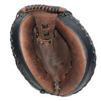 "MacGregor Catchers Mitt BBCMPROX 32"", Baseball Glove RT Throwing Leather Nice"