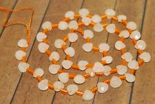New lot 49pc Fine, Faceted Melon Jade Beads- 6mm Was $34 -A1967C