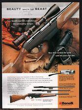 2004 BENELLI R1 RIFLE AD Firearms Gun ADVERTISING