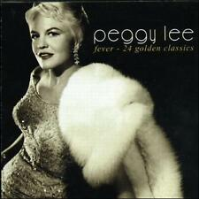 Fever - 24 Golden Classics by Peggy Lee (Vocals) (CD, Dec-2003, Master Songs)NEW