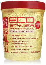 ECO STYLER MAXIMUM HOLD ALCOHOL FREE STYLING GEL 946ML (Choose Yours)