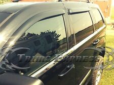2005-2010 Jeep Grand Cherokee 6Pc Chrome Window Sill Trim Accent Stainless Steel
