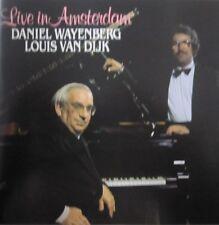 DANIEL WAYENBERG & LOUIS VAN DIJK - LIVE IN AMSTERDAM   - CD