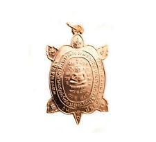 Amulette Thai Rich Magic Lp Lew Wealth Pendant Turtle Tortue Amulet  8037