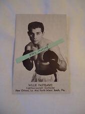 Boxing photo - Willie Pastrano
