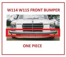 MERCEDES W114 W115 FRONT BUMPER RUBBER ONE PIECE FREE EXPRESS SHIPPING