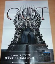 Clippings Poster Plakat GOT GAME OF THRONES Daenerys Emilia Clarke Season 8 A1