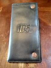 105 Harley Davidson Wallet Black Leather Trifold  105 years of Great Motorcycles