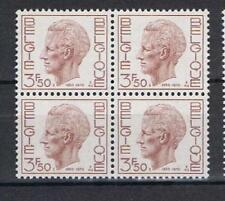 Belgium 1970 King Baudouin Birthday SG 2163 block of 4 MNH