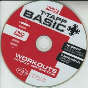 T-Tapp Basic Plus Workouts Without Instruction DVD VIDEO TRAINING fitness health