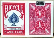 1 deck Bicycle Maiden Back Red Playing Cards by USPCC-S1031332405-4