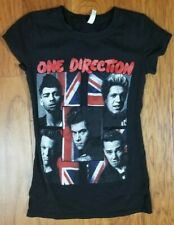 One Direction British Flag Women's Band T Shirt Size Small