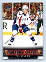 2013-14 Upper Deck Young Guns Tom Wilson RC #212