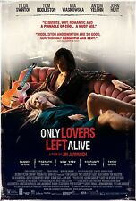 "Only Lovers Left Alive  Movie Silk Fabric Poster 11""x17"""