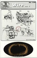 Royal Model 1/35 Wire No.1 (0.30mm Brass) [Metal AFV / Diorama Accessory] 239