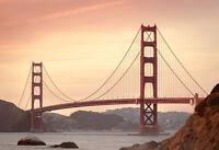 Golden Gate Bridge - Landmark Architecture Poster - Photo Print - Scenic Artwork