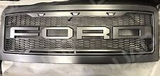 2008-2010 Ford F250 F350 Super Duty Raptor-Style Packaged Grille WITH FORD