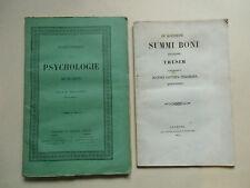 J B  TISSANDIER  PSYCHOLOGIE de PLATON  et SUMMI BONI  1851  De Perisse