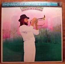 SEALED PROMO IMPORT OBI JAZZ LP: CHUCK MANGIONE, JOURNEY TO A RAINBOW JAPAN