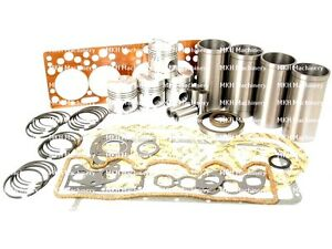 ENGINE OVERHAUL KIT FOR MASSEY FERGUSON FE35 835 TRACTORS.