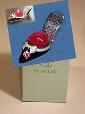 Partylite Audrey Shoe tealight candle holder NEW in box