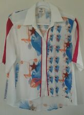 Piplette By alice ritter Womens' Button Down Shirt Size M