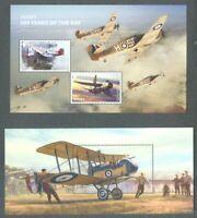 Aviation-Jersey 2 min sheets mnh