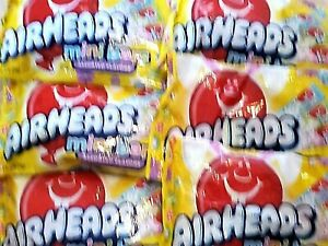 6 Bags Airheads Mini Bars Easter Candy Assorted Flavors - 12 oz