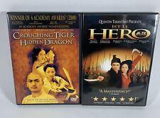 Crouching Tiger, Hidden Dragon & Hero (2 Dvds)