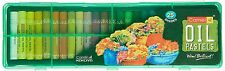 Camlin Kokuyo Oil Pastel Crayons Color 25 Shades Assorted Colours Plastic Box