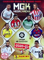 PANINI MEGACRACKS 20/21 LOTE 350 CARTAS NO REPETIDAS 1ª EDICION Y  2ª EDICION