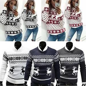 Weihnachtspullover Schlitten Ugly Christmas Sweater Pullover Weihnachten Unisex