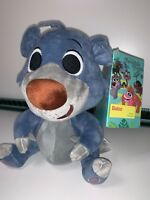 "Disney Store Furrytale Friends BALOO Beanie 8"" Soft Plush Toy Jungle Book BNWT"