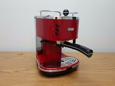 Delonghi ECO310R 15 Bar Pump Espresso Latte Cappuccino Maker, Red