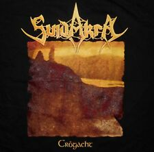 Suidakra – Crogacht / I'll Only Answer With (2-sided) shirt / New 2XL (Black)
