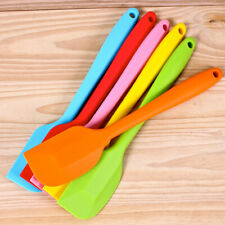 Silicone Cake Cream Butter Spatula Mixing Batter Scraper Brush Baking Cook Tool