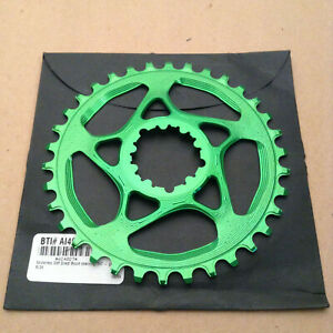 absoluteBlack Absolute Black Sram GXP Direct Mount Chainring Green 34 tooth