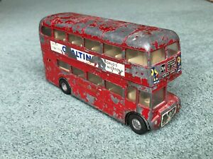 Vintage Triang Spot On LT Routemaster Double Decker Bus - 1 :42 Scale , No 284