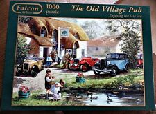 "Falcon de luxe 1000 piece puzzle ""The Old Village Pub"""