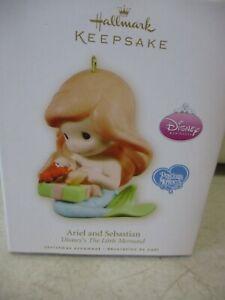 Hallmark Keepsake Ornament Disney The Little Mermaid Ariel and Sebastian