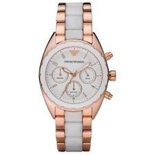 Emporio ARMANI AR5942 Ladies Rose Gold SPORTIVO Watch