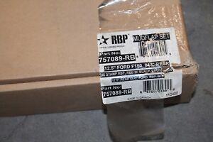 RBP Rolling Big Power 757089-RB Mud Flap Set 12.5''  Rear Fits Ford F150 04-Cur