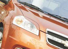Cilia head lights Headlights eyebrows Chevrolet Aveo III 2006- Design type -2