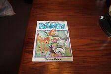 Walt Disney's Bambi: Adapted from Felix Salten's Novel (Fisher-Price)