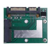 Mini Msata Ssd To 2.5 Inch Sata3 6.0 Gps Adapter Converter Card Pcie Module B5M6
