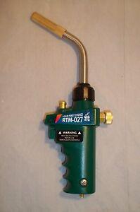 Mapp Gas Self Ignition Trigger Turbo Torch Brazing Propane Plumbing Hvac Jewelry