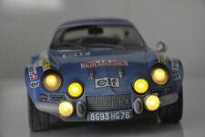 CODEX 1/18 FINISH LINE + Night Version Alpine A110 Monte Carlo  '73  #18